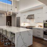 luxury modern open kitchen