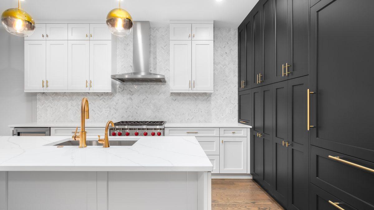luxury kitchen installation