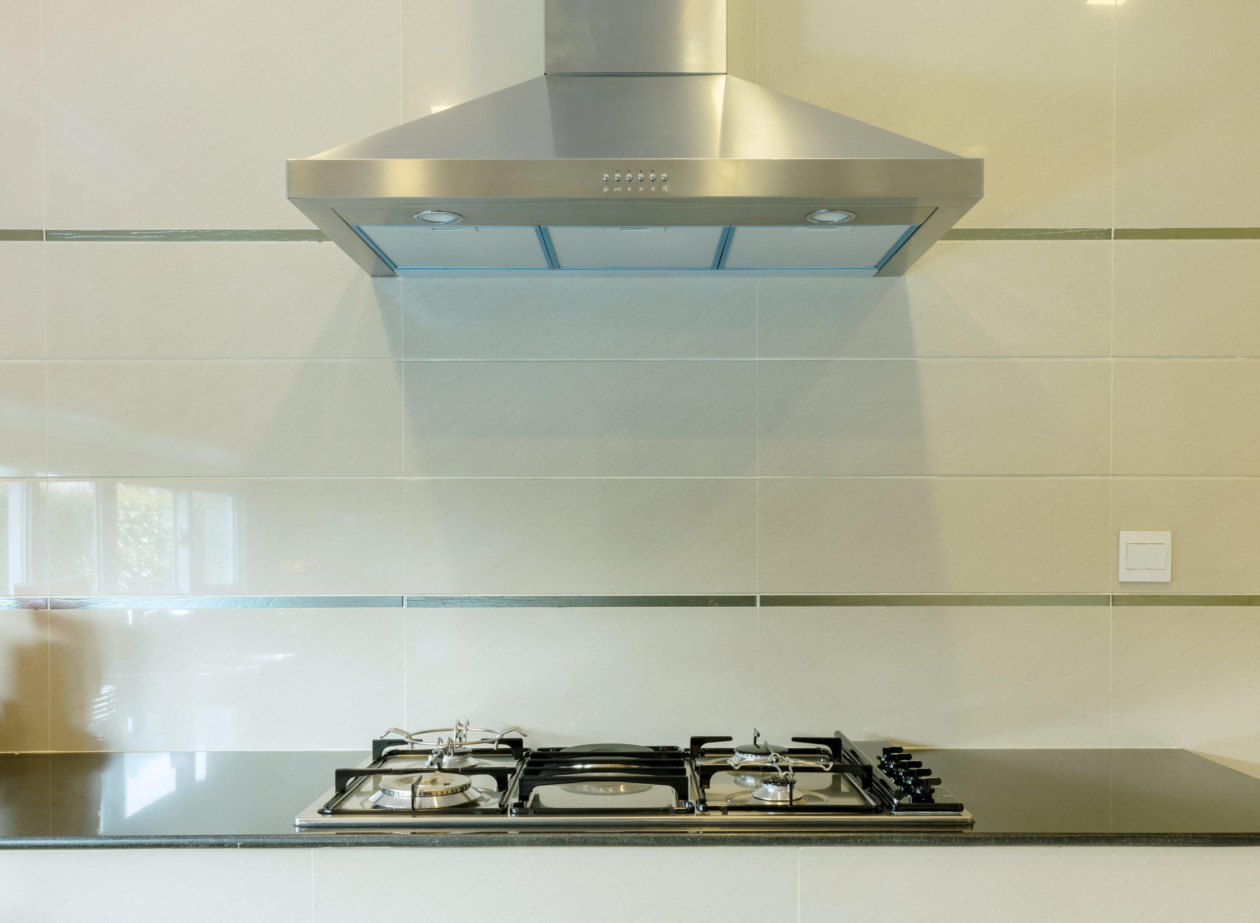 hood in kitchen
